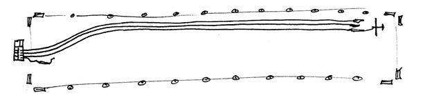 Treuil cables piste planeur