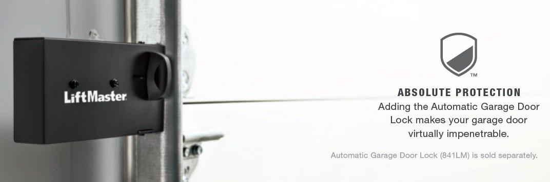 Liftmaster Garage Door Opener Model 8550W Features and Optional Accessories