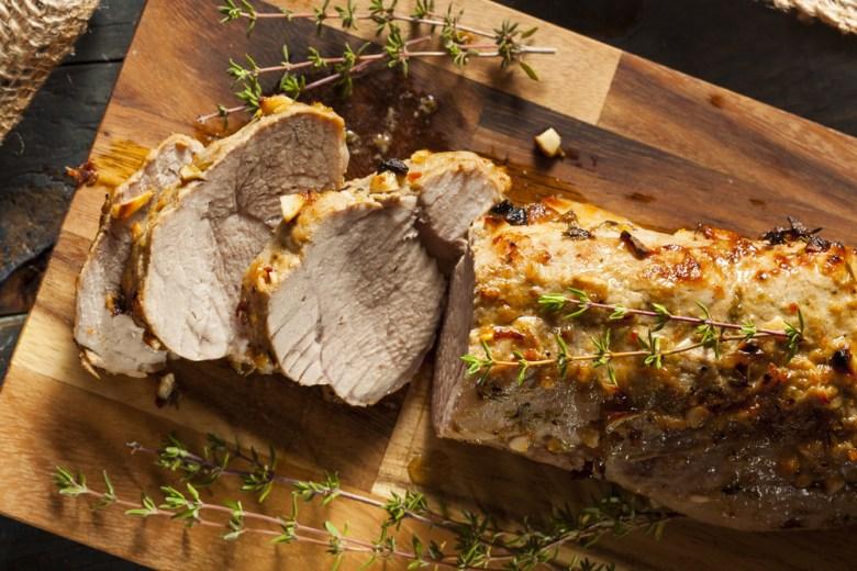 recipe roast pork loin
