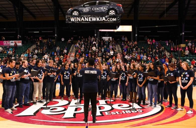 PISD Legends basketball choir