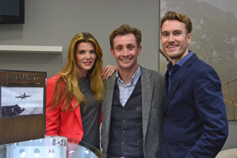 Anna Broadfood Nick English, Dan Broadfoot, Bremont Watches