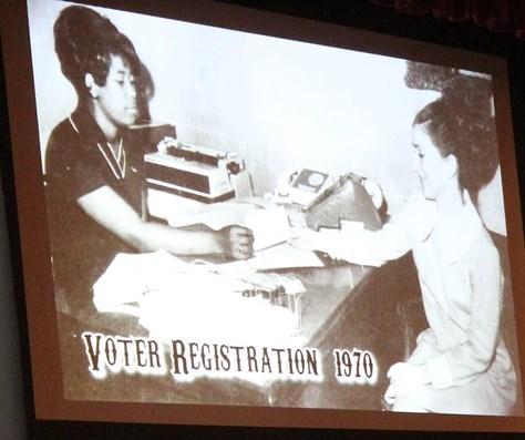 Voter registration plano chamber
