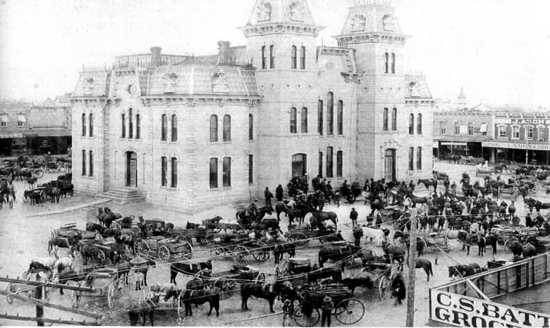 Downtown McKinney 1800s