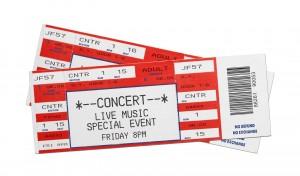 concert tickets red valentines day