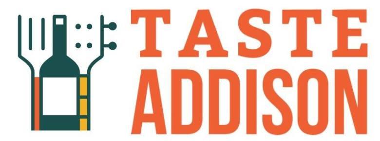 taste addison food
