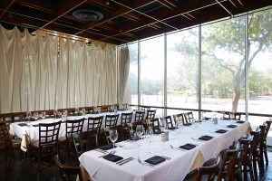 Windows, fine dining, Richardson restaurant, dining and good views, summer restaurants