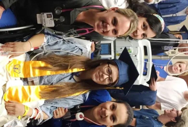 Medical Center of Plano host graduation