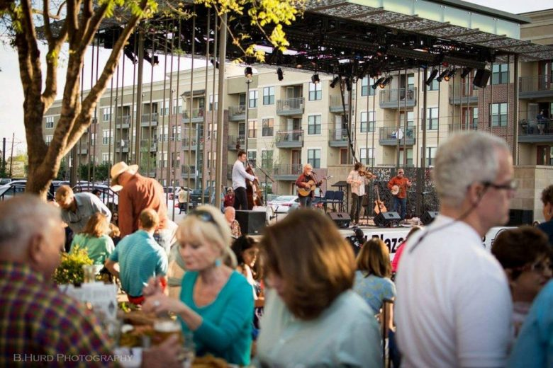 Downtown Plano Texas concert at McCall Plaza Plano Living Brandon Hurd