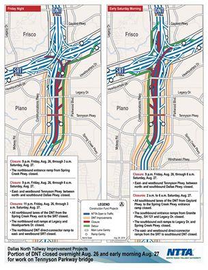 City of Plano road closure
