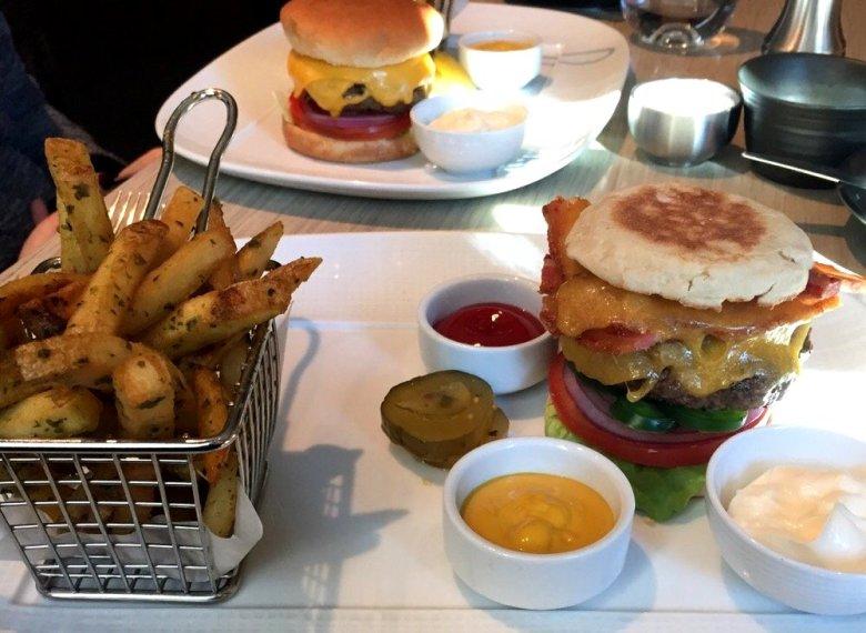John Tesar Knife Burger at Plano's Legacy West