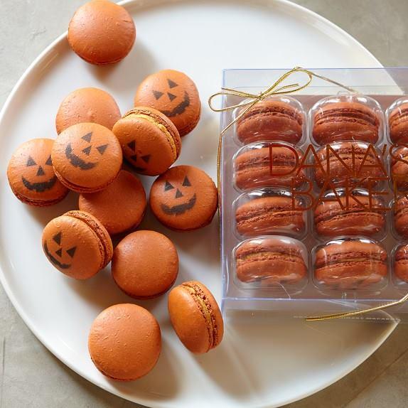 Williams Sonoma Pumpkin macarons Plano