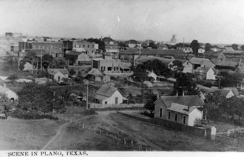 Scene in Plano, Texas (East) | Courtesy of the Genealogy Center of the Plano Public Library System