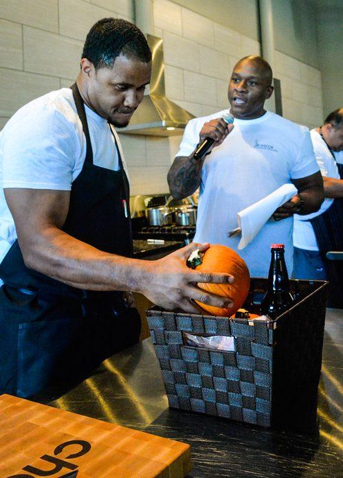 Chef Tre Wilcox, Celebrity Chef Smack Down, Plano 1