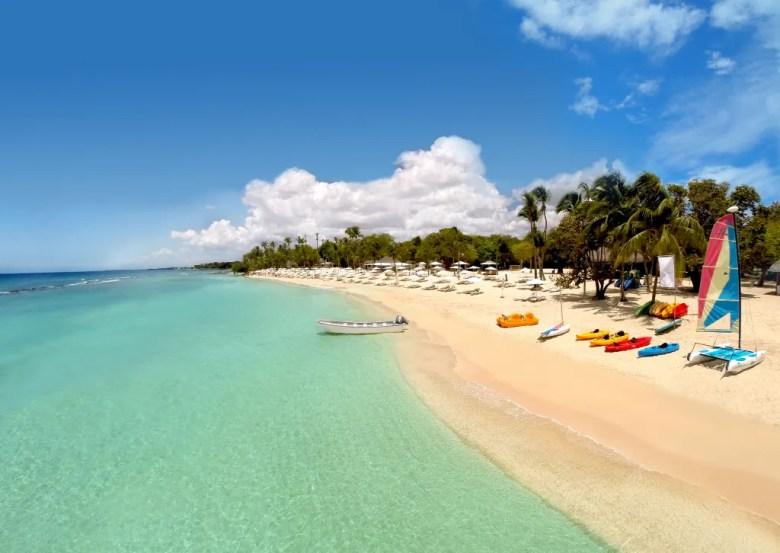 Minitas Beach, Casa de Campo, Dominican Republic.