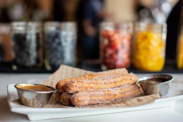 bulla gastrobar spanish tapas legacy west plano food churros