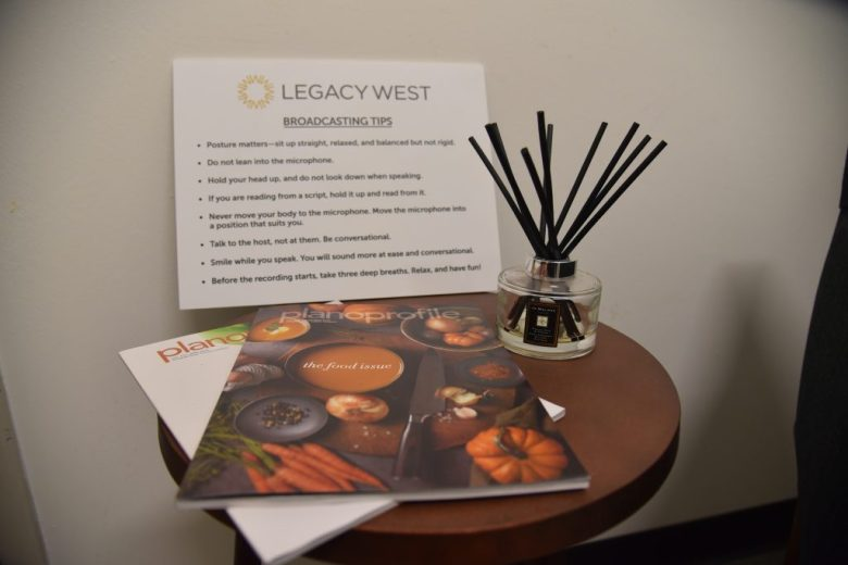 Legacy West Rebecca Silvestri Green Room, Plano Profile magazine