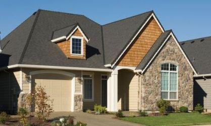 estilo americano casa casas frente planos plano modernas planosdecasasmodernas