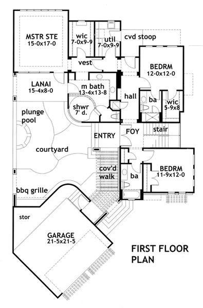 lujosa  Planos de casas modernas