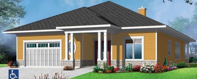 Fachadas de casas estilo rancho - Casas estilo americano ...