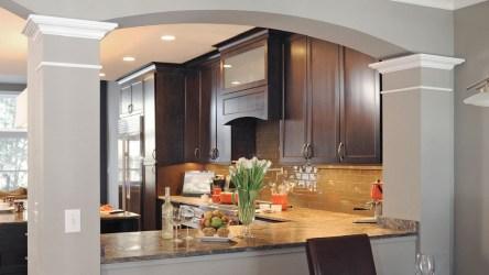 cocinas arcos barra cocina desayunador casa barras arco modernas hermosas pequenas interior te disenos guardado desde
