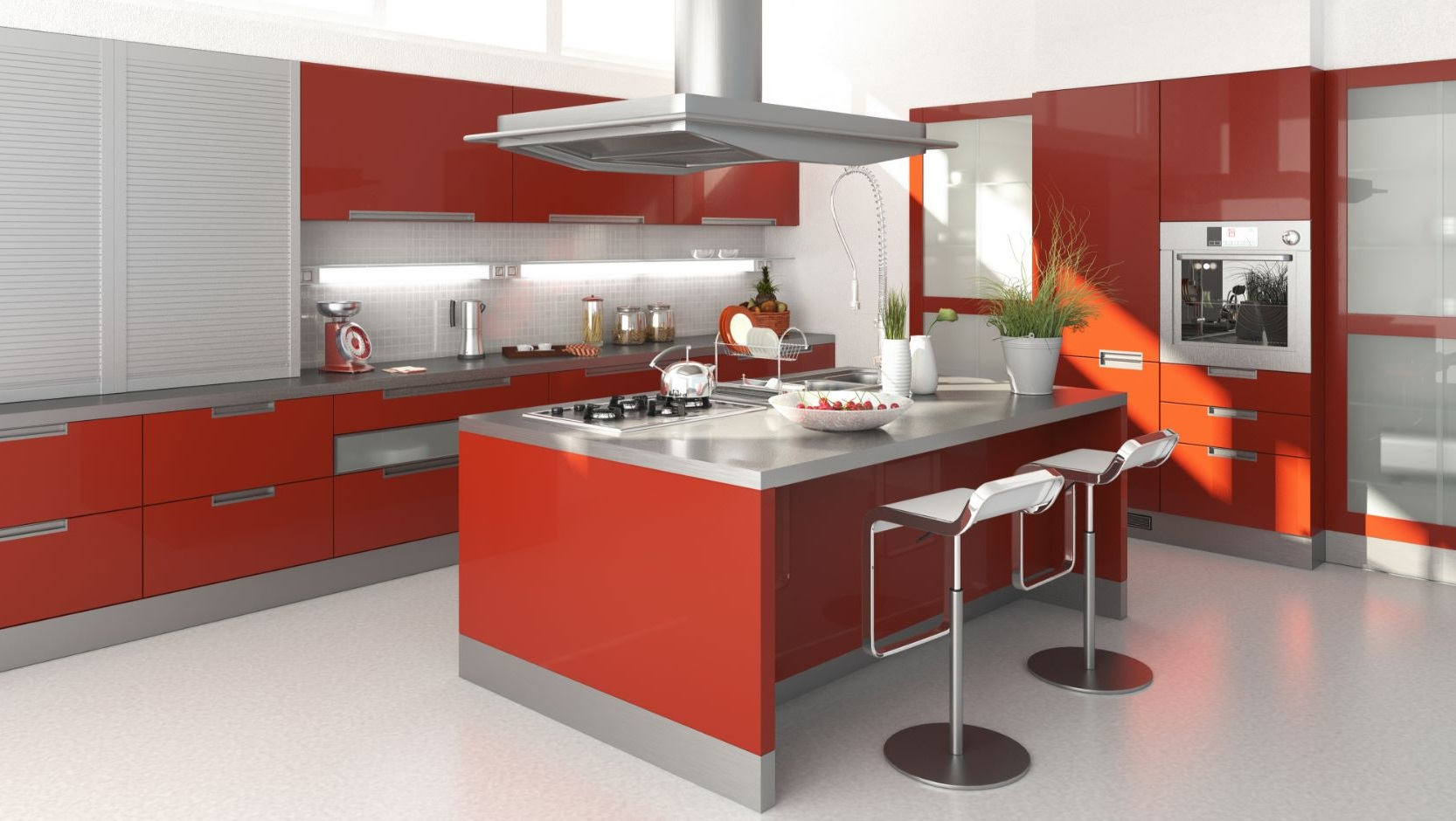 Alacenas de cocina moderna