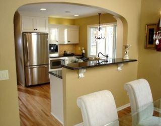 cocina barra pared desayunadora arco cocinas arcos barras disenos casa ejemplos conocer invitamos algunos te muy