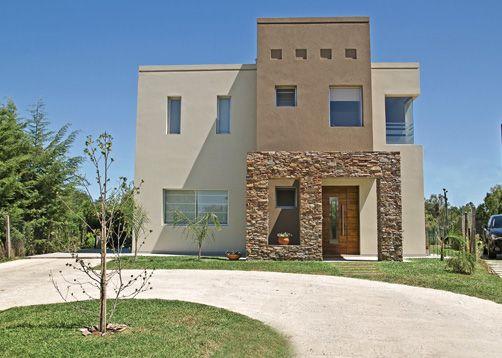 16 fachadas de casas con piedras planos y fachadas - Revestimientos exteriores para casas ...