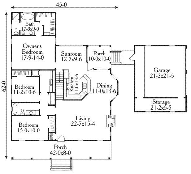 18 planos de casas coloniales planos y fachadas todo for Planos de casas estilo colonial