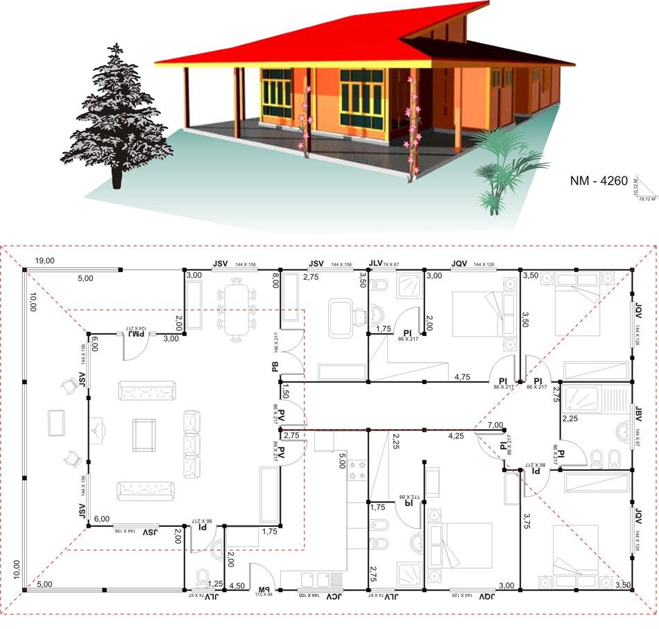 18 planos de casas de madera planos y fachadas todo para el dise o de tu casa planos y - Planos para casas ...