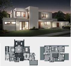 planos de casas modernas gratis7