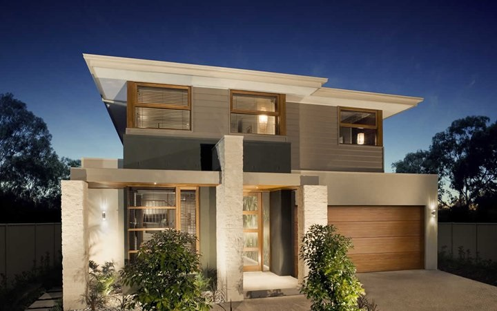 21 frentes de casas bonitas planos y fachadas todo - Materiales de construccion para fachadas ...