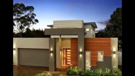 Fachadas de casas modernas de un piso Planos y Fachadas Todo para el diseño de tu casa