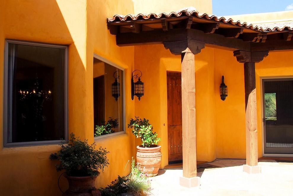 Fachadas de casas coloniales planos y fachadas todo for Que color de fachada elegir