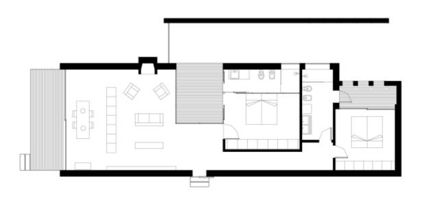 Planos de casas minimalistas una planta dos plantas for Casas minimalistas de una planta