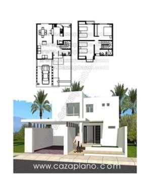 Planos de casas minimalistas una planta dos plantas - Planos de casas minimalistas ...