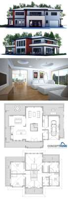 planos-de-casas-modernas-de-dos-plantas-15