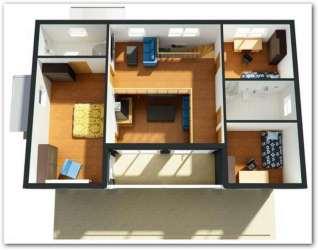 Planos de casas pequeñas de dos plantas Planos y Fachadas