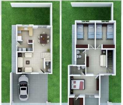 planos-de-casas-pequenas-de-dos-plantas-9