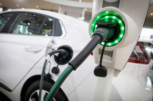 Tesla Electric Car Charger Plano