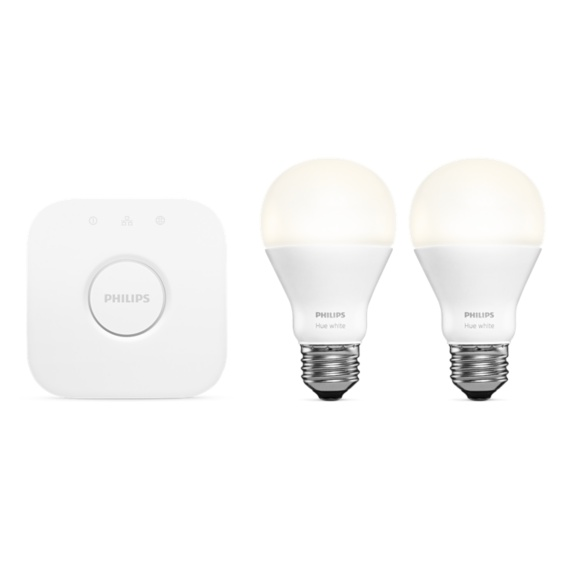Philips Hue White Starter Kit A19 E26 Image