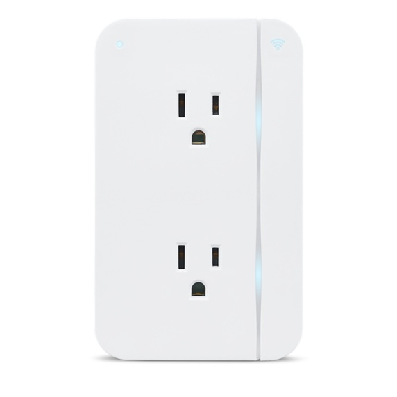 ConnectSense Smart Outlet - Wi-Fi Dual Smart Plug Image