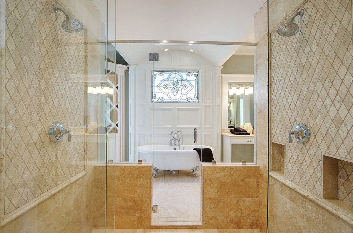 Decorating with Travertine Tile - Plano Texas Handyman