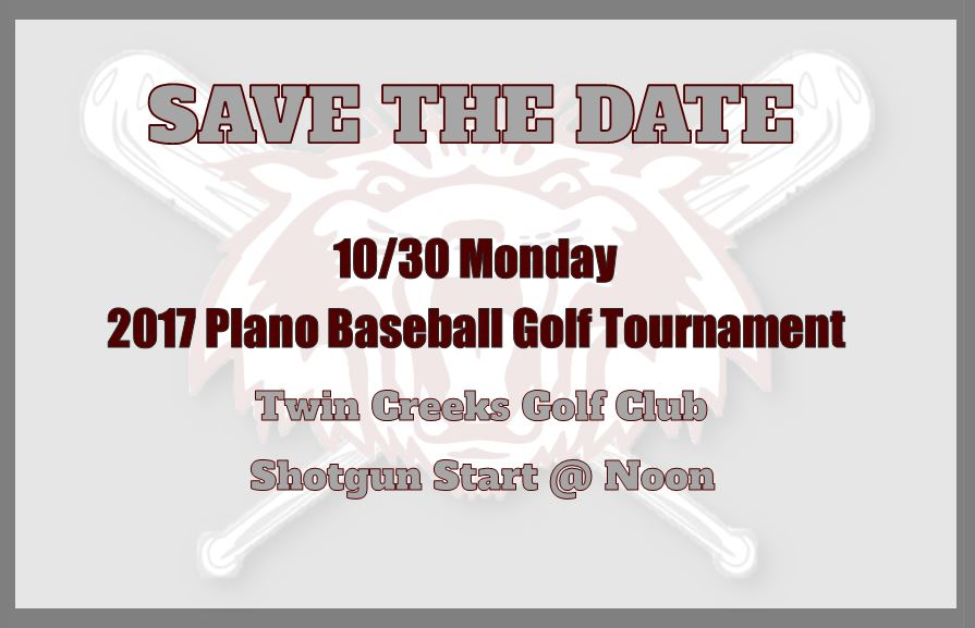 19th annual baseball golf tournament