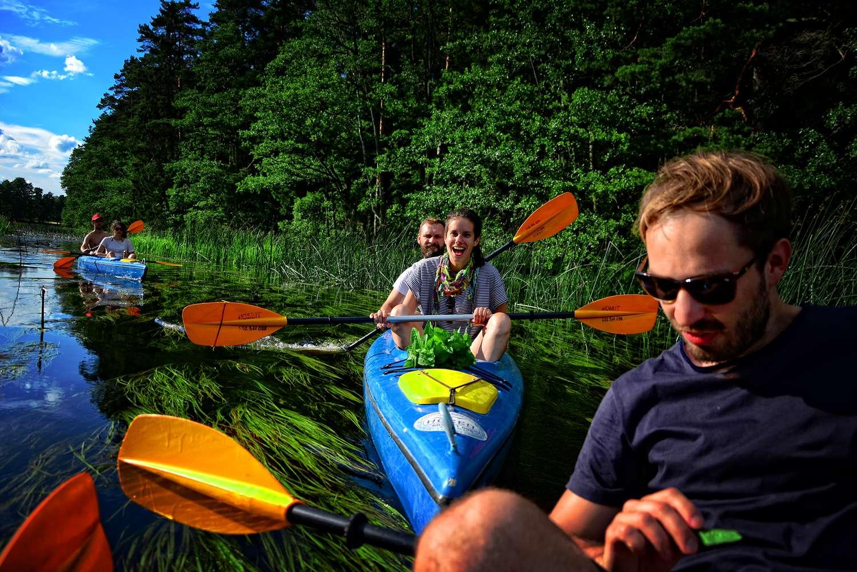where to go in poland Touristic attractions in Poland sports in poland czarna hancza kayak