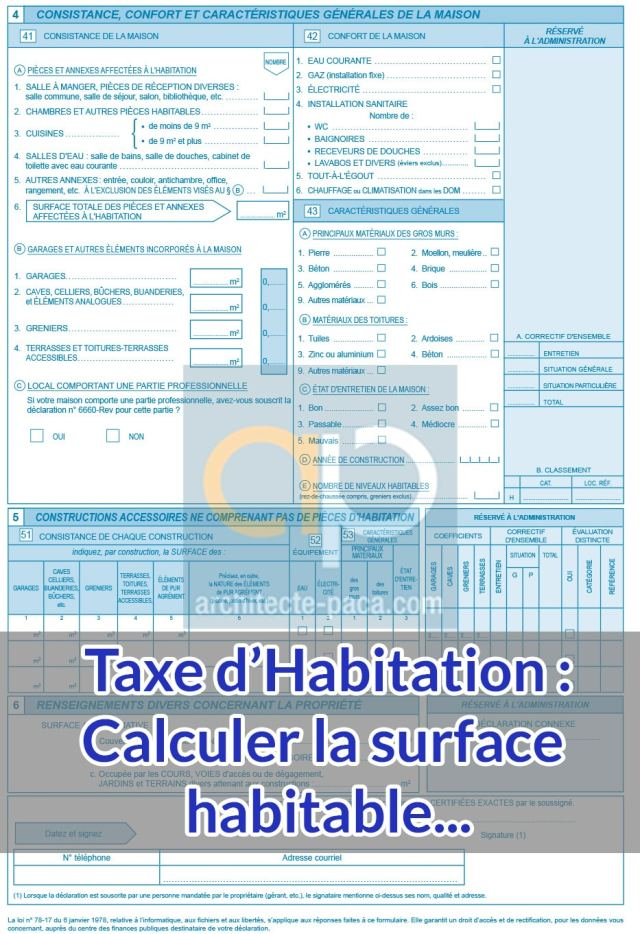formulaire-H1-Taxe-habitation-calcul-surface