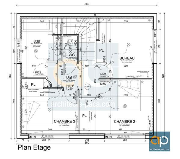 comment lire un plan de maison facilement et viter les erreurs. Black Bedroom Furniture Sets. Home Design Ideas