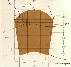 Woodworking Mag rack end plan e1587737623754