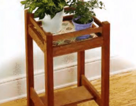 Projects Plant stand finished