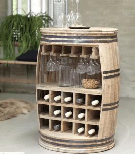 Barrel Bottle Storage