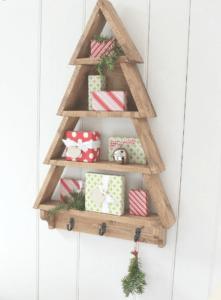 Christmas tree wooden